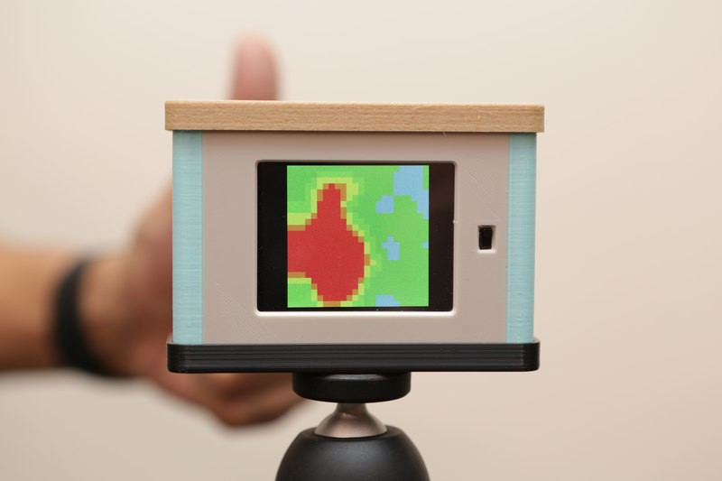 arduino热成像相机(含stl和stp)