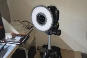 3D打印环形相机补光灯