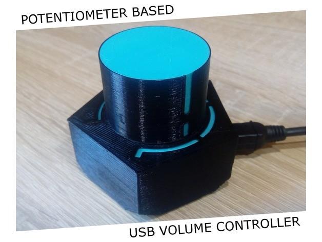 基于电位计设计的USB音量控制器