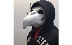 鸟嘴面具三维模型