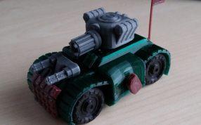 玩具战车三维模型