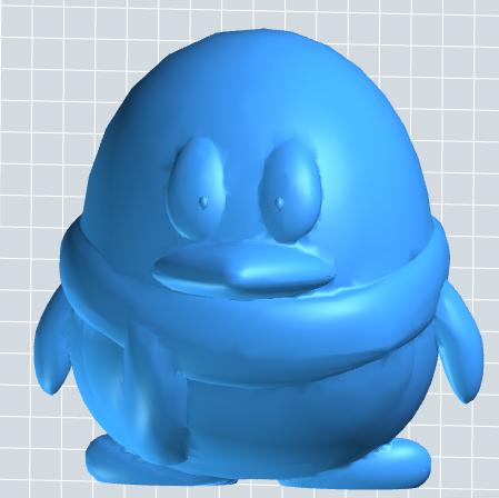 QQ企鹅3D模型