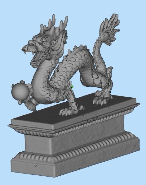中国龙雕塑摆件