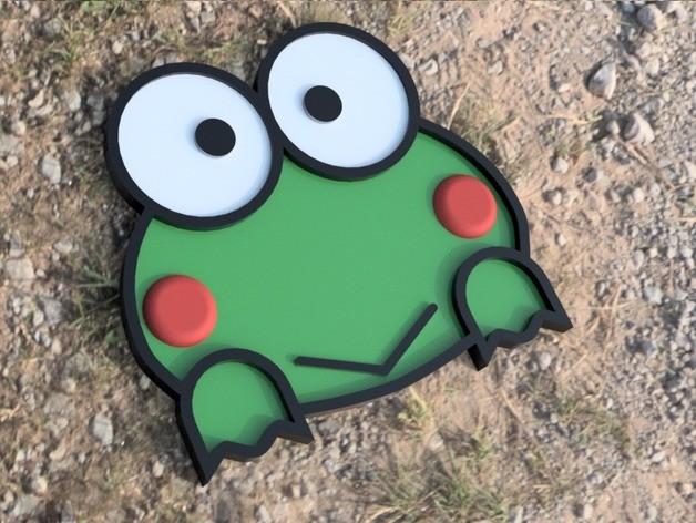 2D小青蛙模型