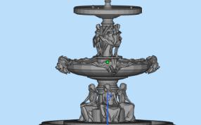 三层喷泉模型