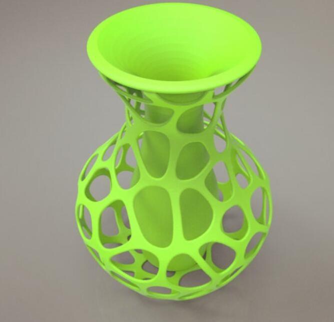 镂空花瓶模型