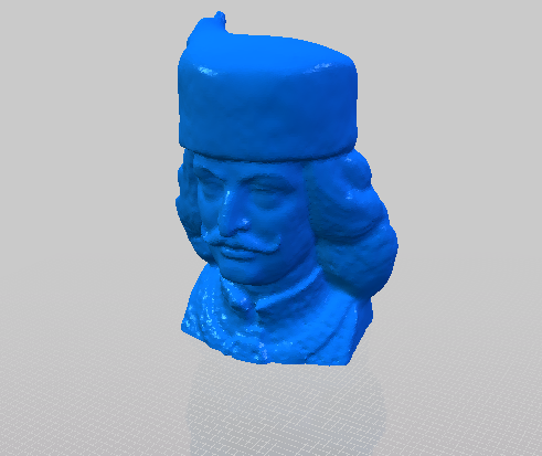俄罗斯大兵的人物头像模型