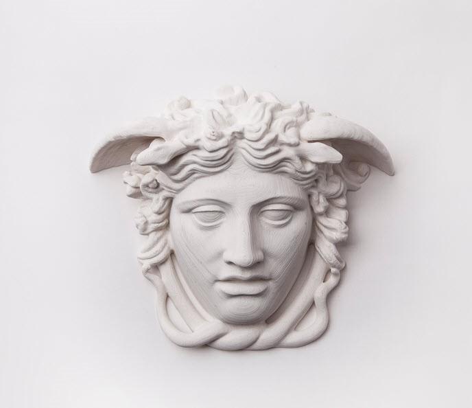 蛇发女怪美杜莎3D打印模型