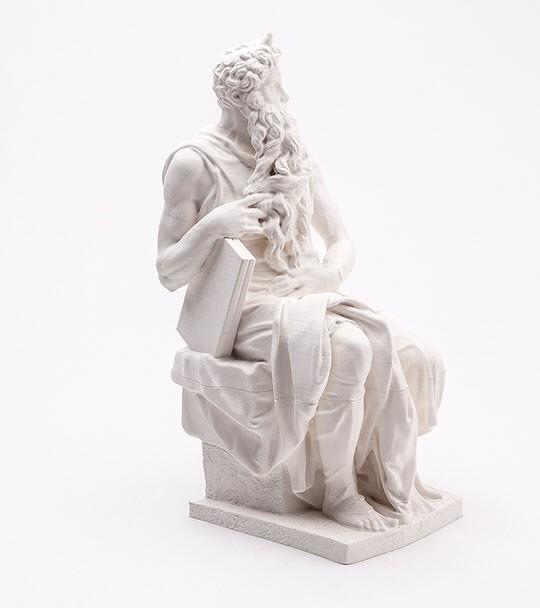 米开朗基罗作品摩西像雕塑