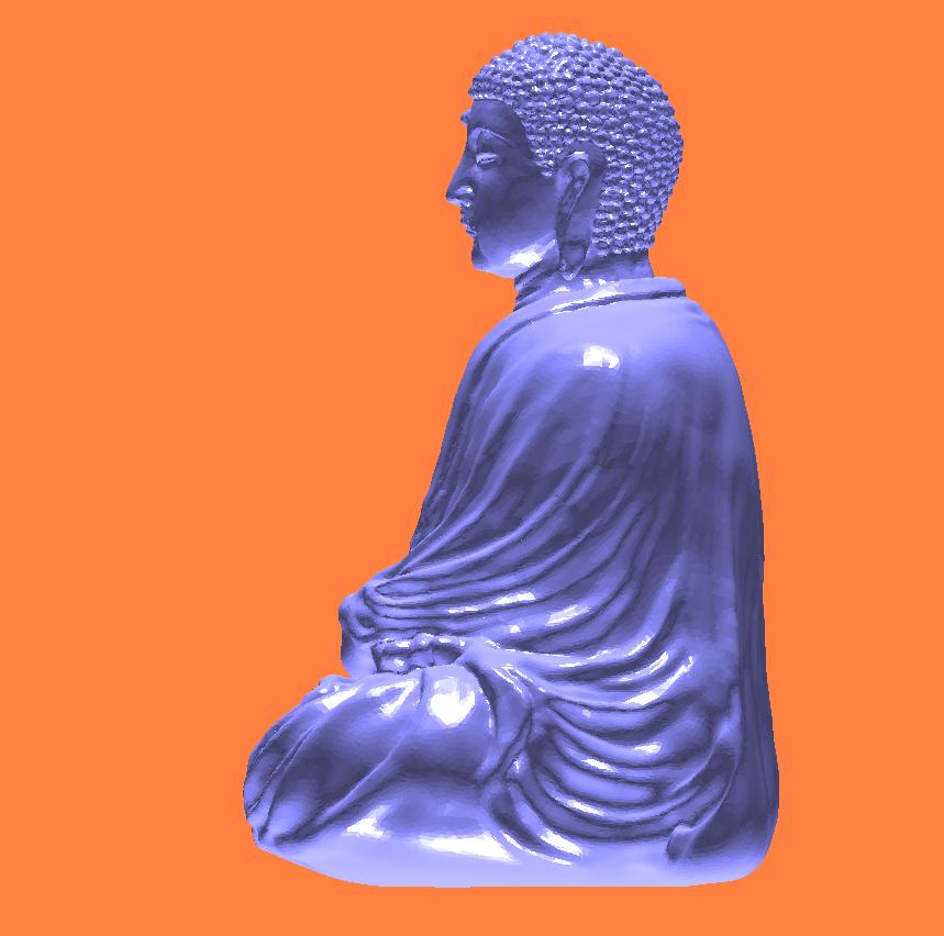 如来佛祖stl模型