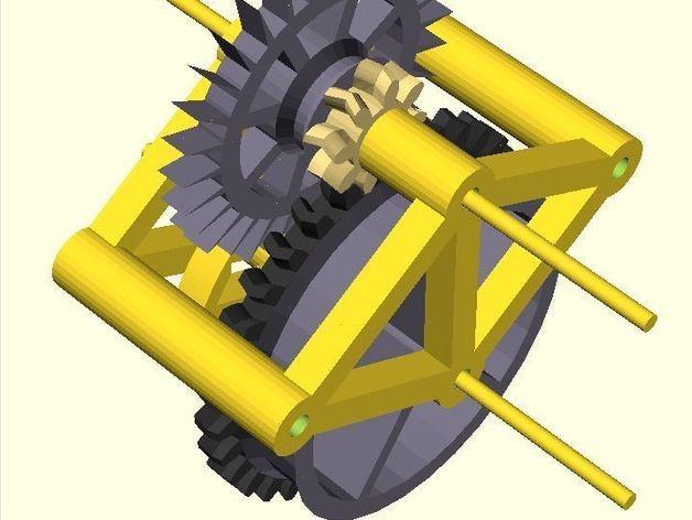 齿轮教学仪器