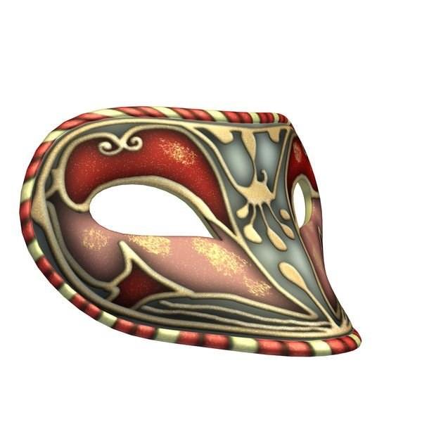 科勒姆比娜面具