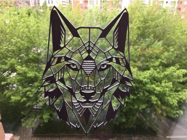 2D狼设计模型