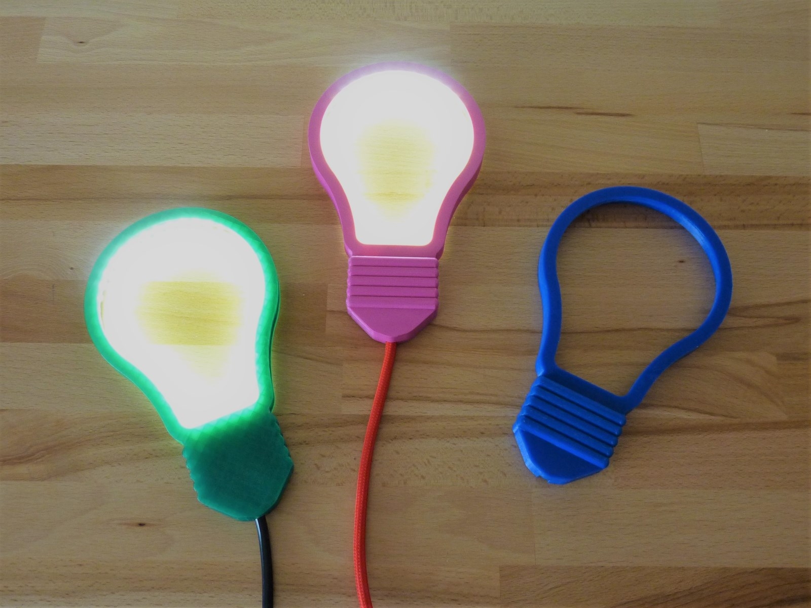 LED白炽灯泡符号