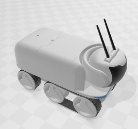 越野车Raspberry PI机器人模块化平台