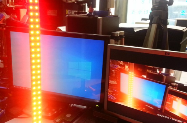 便携式LED条来响应音乐